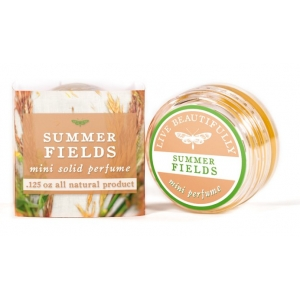 Summer Fields Solid Perfume / Cologne by Live Beautifully