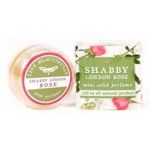 Shabby London Rose Solid Perfume by Live Beautifully
