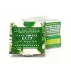 Dark Forest Rain Solid Cologne by Live Beautifully