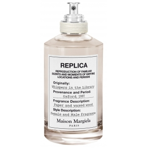 Replica Whispers in the Library by Martin Margiela
