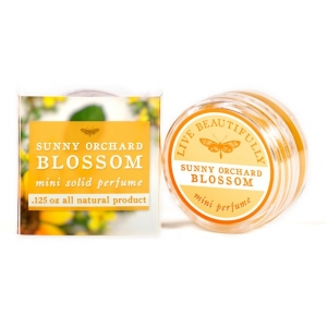 Sunny Orchard Blossom Solid Perfume by Live Beautifully