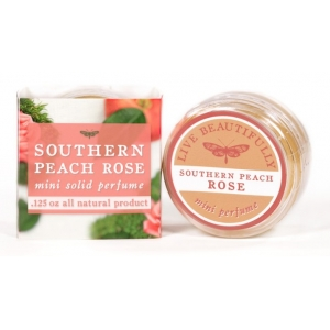 Southern Peach Rose Solid Perfume by Live Beautifully